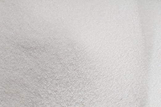 Arena FINE blanco 5 kg-fondo de Acuario arena Cenicero, arena, diseño de jardín zen: Amazon.es: Hogar