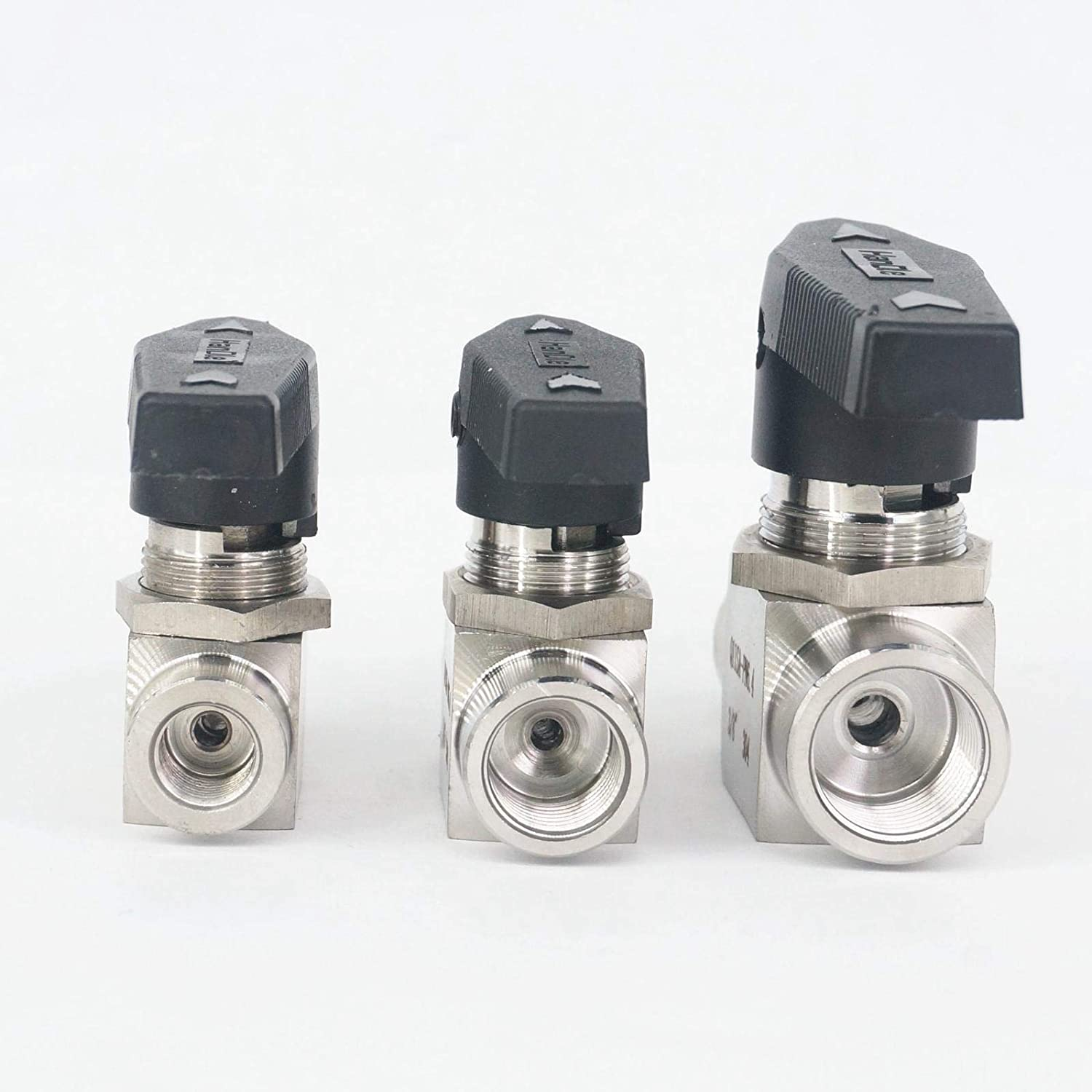 Fittings 1//4 3//8 1//2 3//4 1 BSP Euqal Female 304 Stainless Steel Shut Off Ball Valve 915 PSI Water Gas Oil Specification : 1 BAIJIAXIUSHANG-TIES Valves