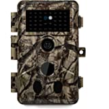 Meidase P20 Trail Camera 18MP 1080P Game Camera with H.264 HD MP4 Video Fast 0.1S Trigger Speed 82ft No Glow Night Vision Mot