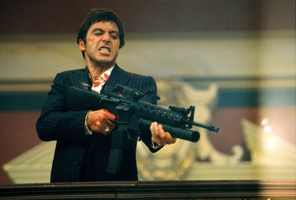 20 inch x 13 inch bribase shop Scarface poster 36 inch x 24 inch