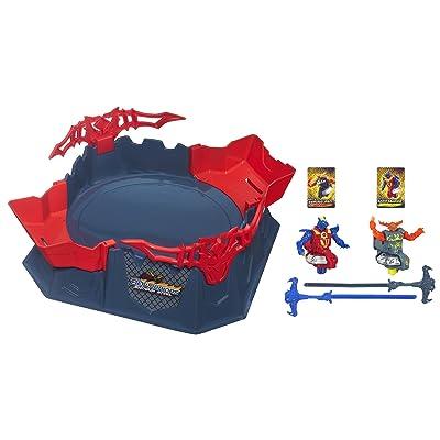 BeyWarriors Shogun Steel Octagon Showdown Battle Set(Discontinued by manufacturer): Toys & Games