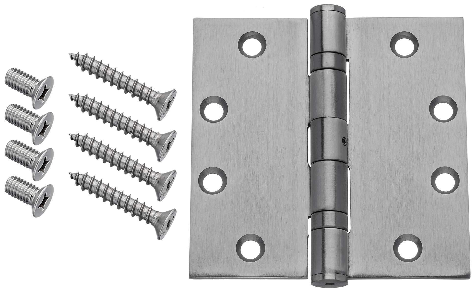 "1-1//4/"" x 4-7//8/"" x 3//32/"" Tell Manufacturing CL100218 ASA Strike Plate"