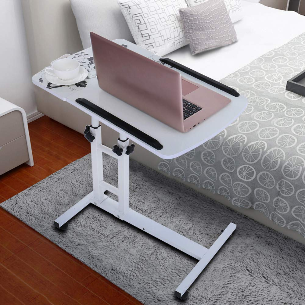 Computer Table Fashion Folding Lift Rotating Bedside Mobile Laptop Desk 17.32inch×15.75inch, Shipped from US by JPOQW (Image #2)