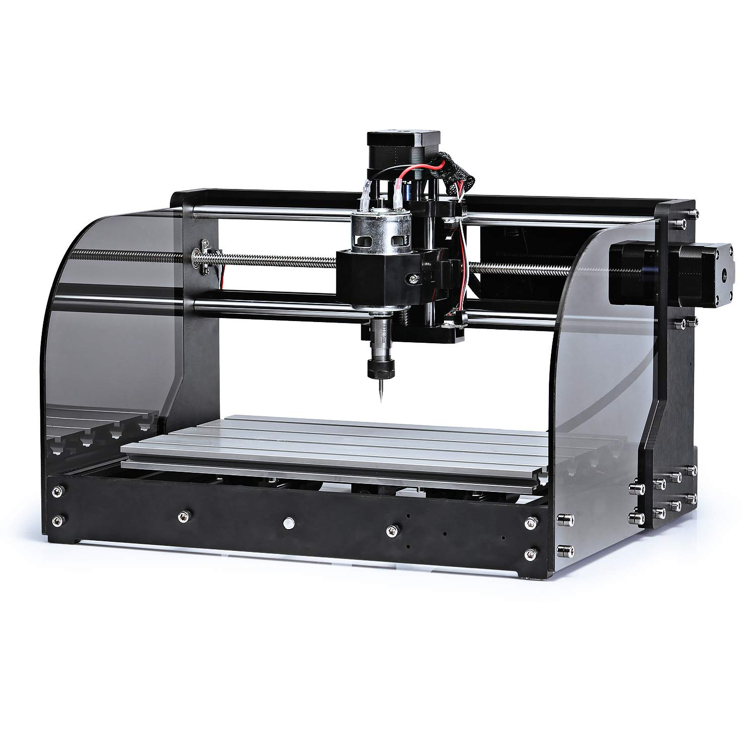 Used Milling Machines Power Tools Tools Home Amazon Com >> Sainsmart Genmitsu Cnc Router Machine 3018 Mx3 With Mach3 Control And Safety Driven Design