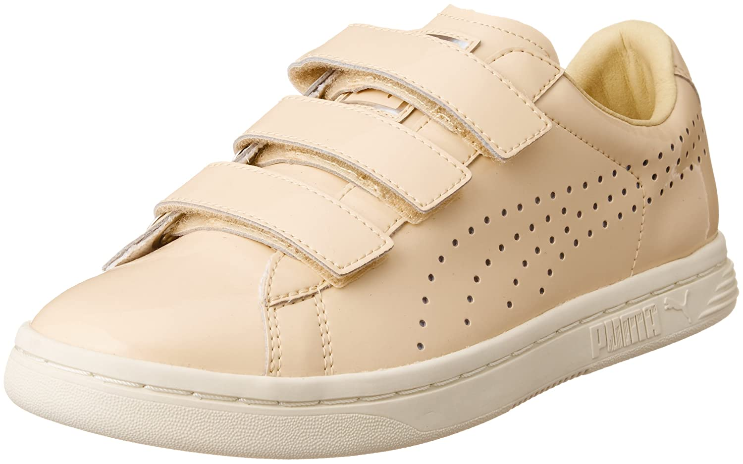 official photos ffb65 edb05 Puma Court Star Velcro Nude Trainers, Natural Vachetta-WHI ...