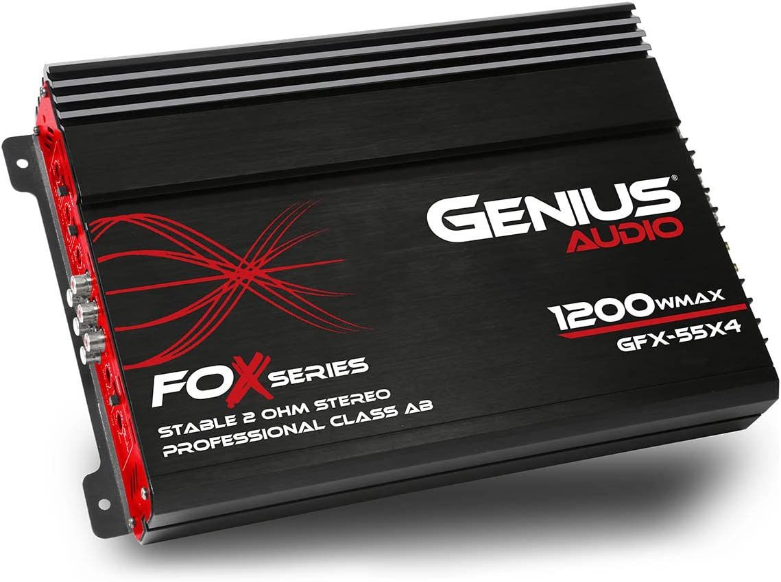 Genius GFX-55X4 4 Channel Amp Under 100 Dollars