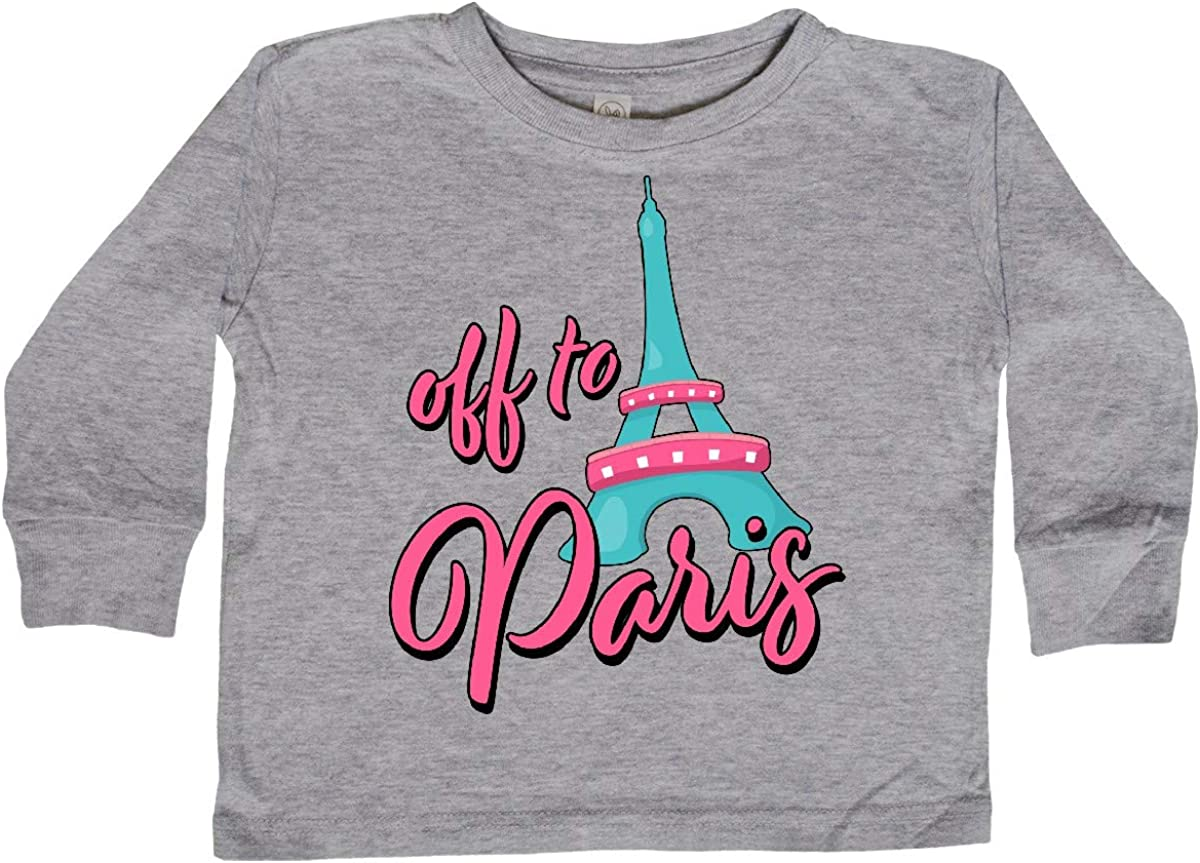 inktastic Off to Paris Vacation Baby T-Shirt