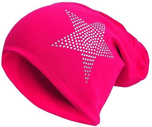 Brandshopping99 - Gorro de punto - para mujer rosa Talla única