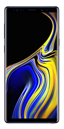 Samsung Galaxy Note 9 SM-N960FZBDINS (Ocean Blue, 128GB) Without Offer Smartphones & Basic Mobiles at amazon
