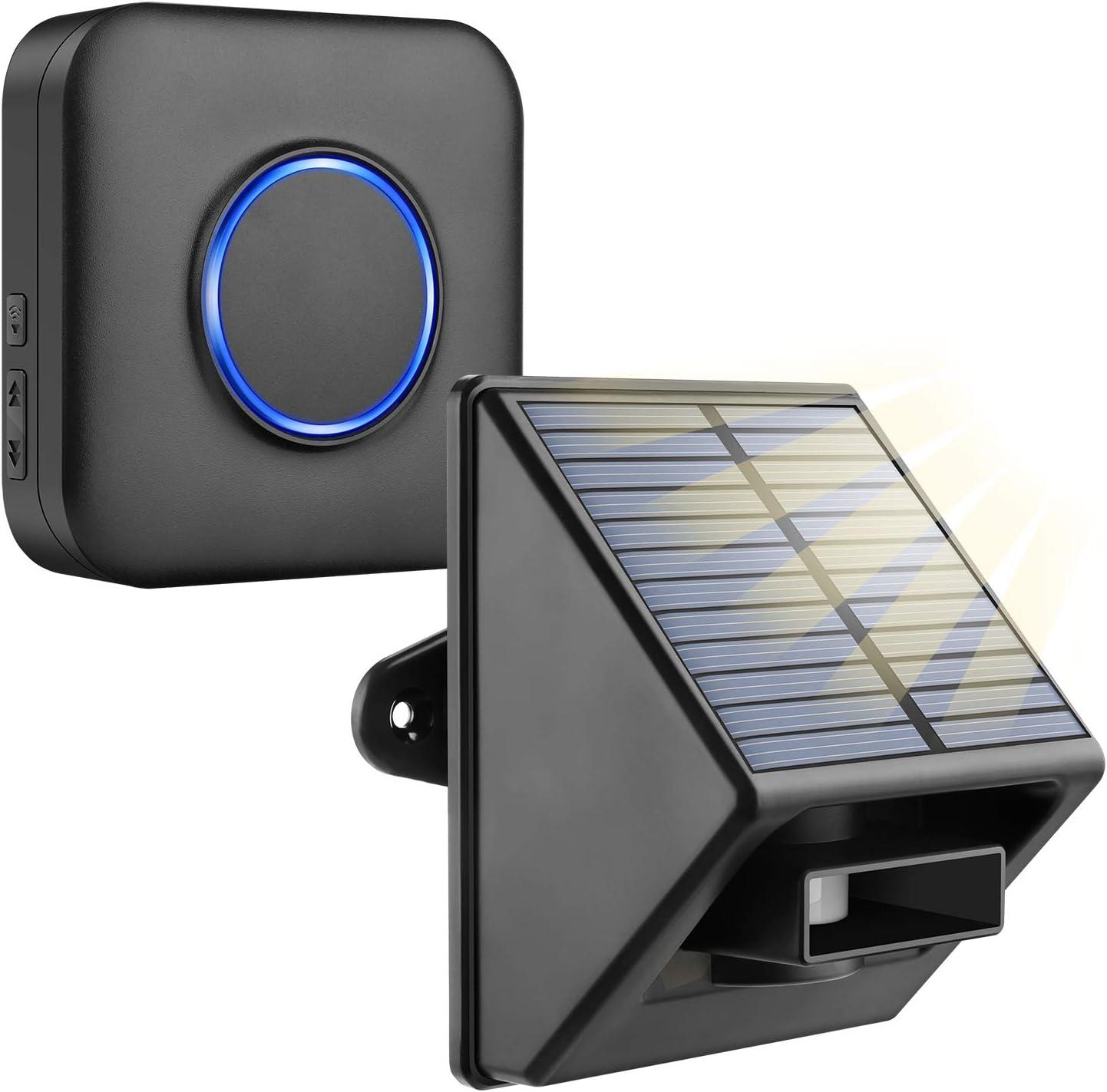 Bitiwend Solar Driveway Alarm