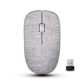 Amazon com: RAPOO Wireless Mouse for Mac Laptop PC, Fabric