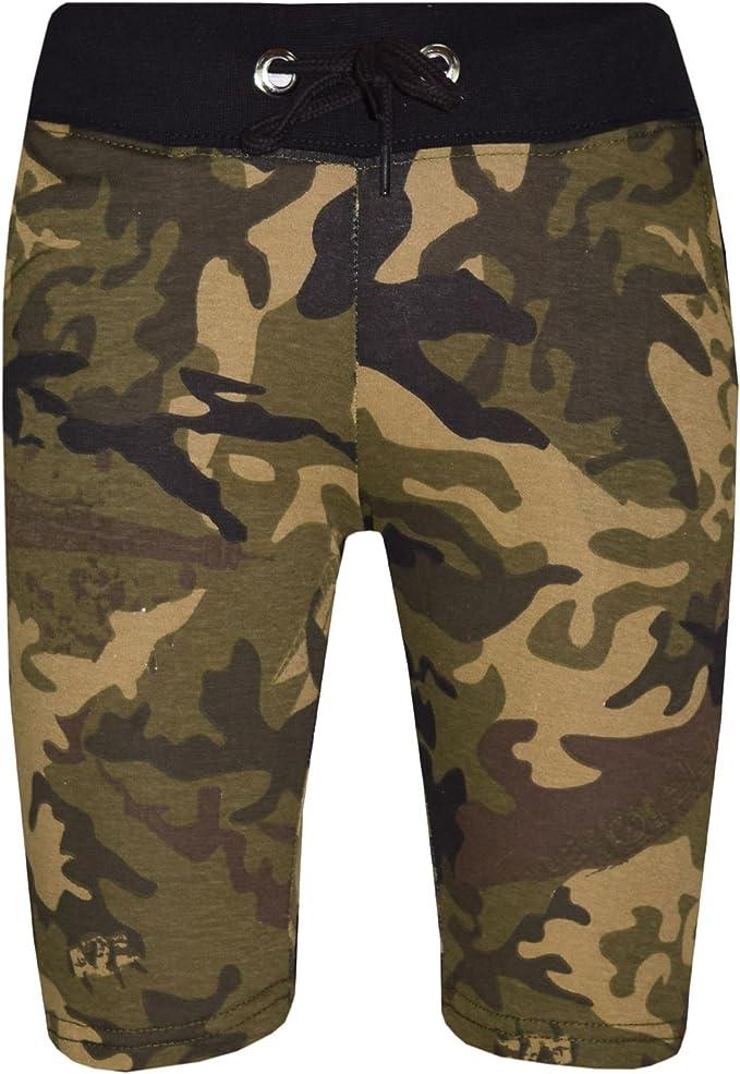 Kids Boys Shorts Fleece Black Chino Short Knee Length Half Pant New Age 3-13 Yrs