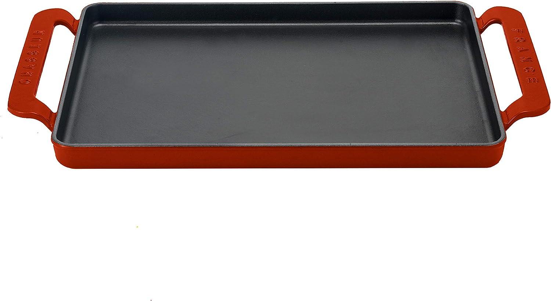 Chasseur grill rectangulaire 42 x 24 cm rubis Cuisine de