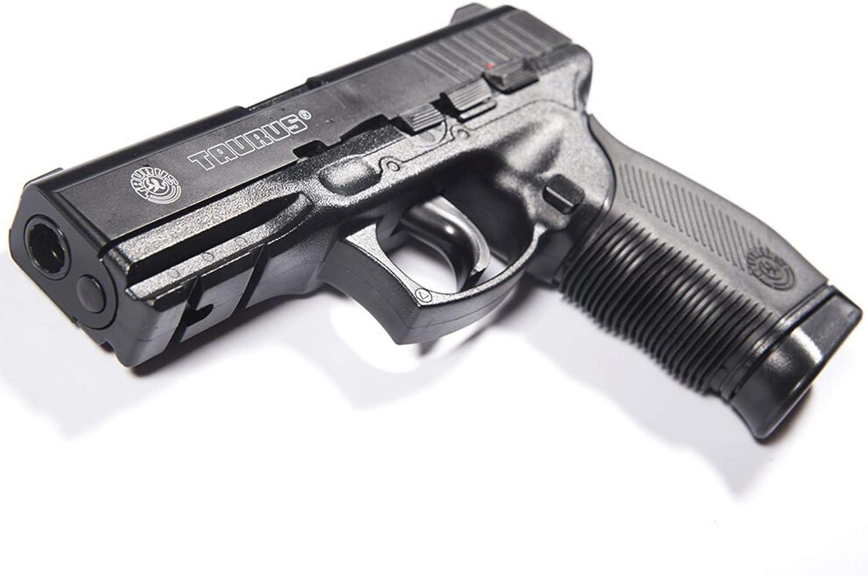 CyberGun Airsoft Taurus PT24/7 -Pistola para Airsoft,con Muelle,de Recarga Manual (0,5 Joule)