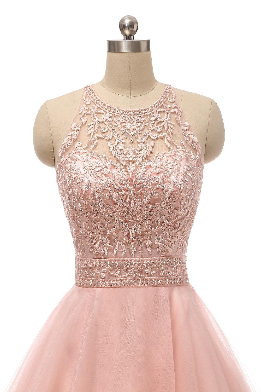 wding Pink-0025 corto vestidos de baile para para juniors de ...