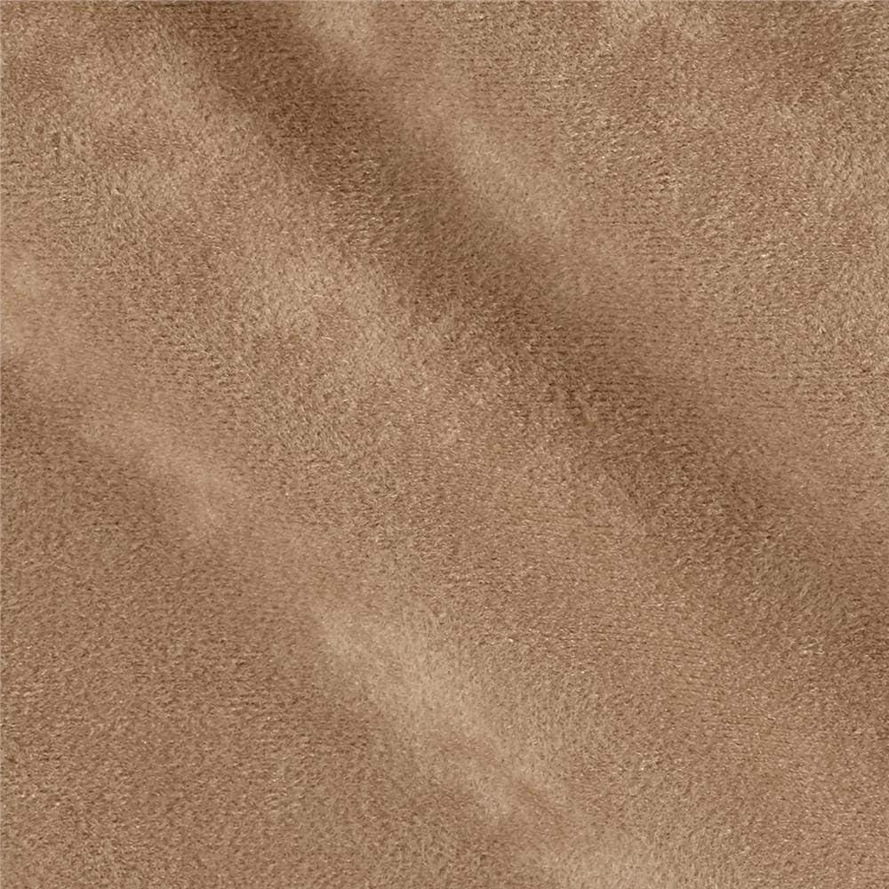 Plastex Soft Suede Mocha Fabric By The Yard