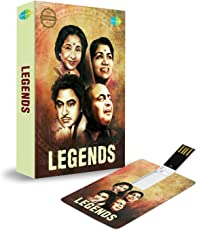 Music Card: Legend 320 Kbps Mp3 Audio 4 GB