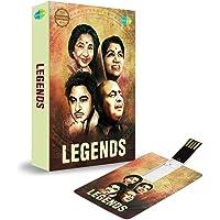 Music Card: Legend (320 Kbps MP3 Audio) (4 GB)