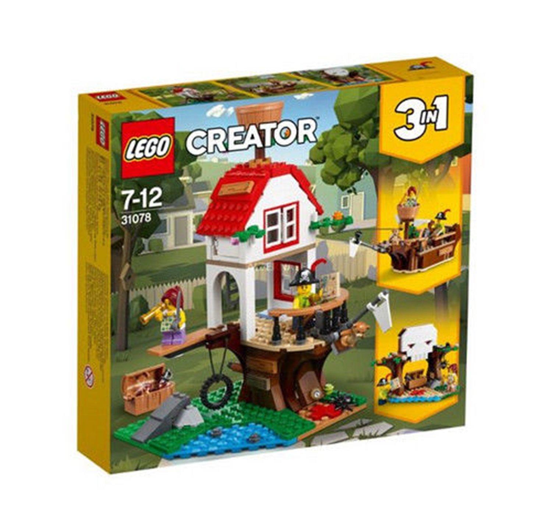 Lego Creator Treehouse Treasure 31078 Building Set (260 Piece)