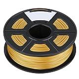3D Printer Filament - SODIAL(R)3D Filament 3.0mm PLA for Print RepRap MarkerBot Rapman 1kg/2.2lbs, Gold