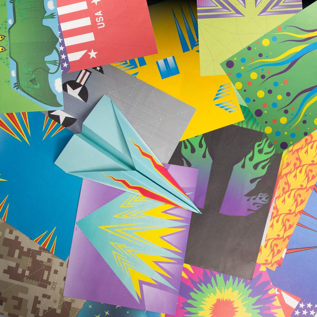 Kangaroo's Paper Airplane Kit; 72 Paper Airplanes by Kangaroo (Image #1)