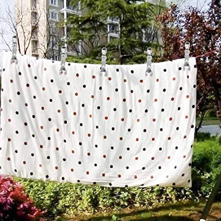 Bed Sheet Tablecloth Quilt Outer Covers Skroad 12 Pack Large Clips Clips Heavy Duty Stainless Steel Clothes Pegs for Towel Blanket