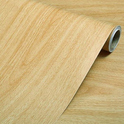 Autoadhesivo Papel de contacto de grano de madera natural ...