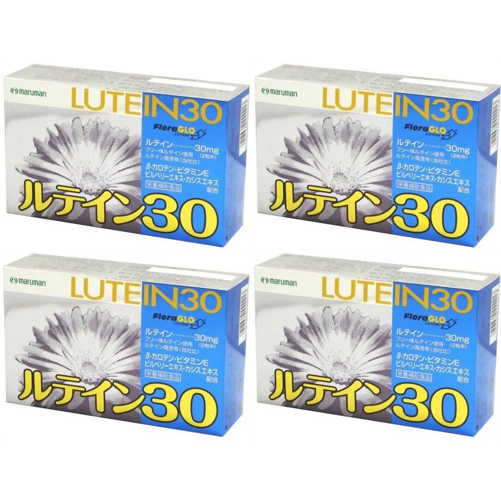 【セット品】ルテイン30 60粒×4個 B01M0D6YO5