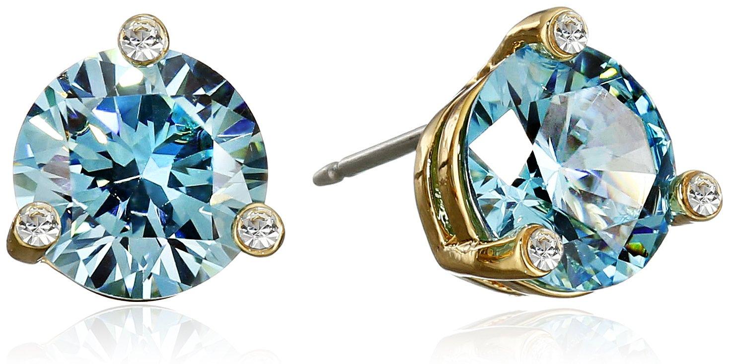 kate spade new york''Rise and Shine'' Aquamarine Small Stud Earrings