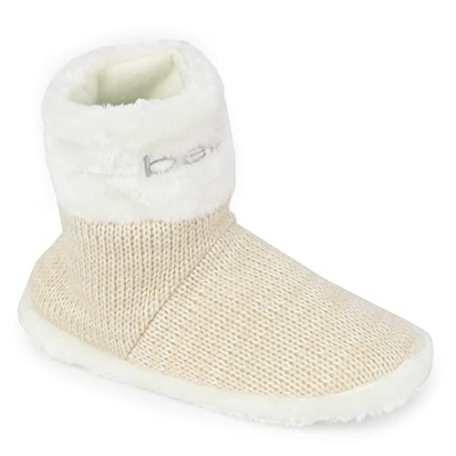 Amazon Bebe Girls Embroidered Knit Slipper Boots Slippers