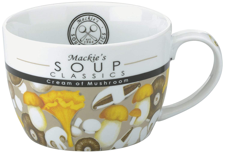 Mackie s Soup Classics Pilzsuppe Becher Mehrfarbig