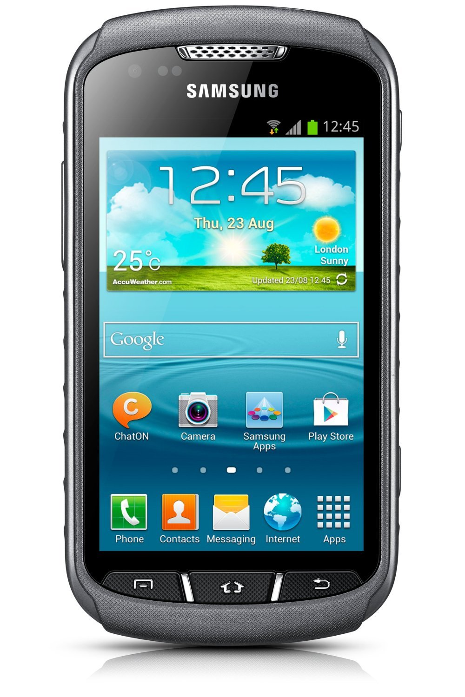 Samsung Galaxy Xcover 2 Gt S7710 Colour Titan Grey Nokia Asha 310 Dual Sim Resmi White Electronics