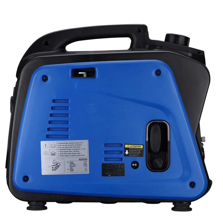 amazon com hephaestus inverter generator 1600 starting watts 1850 rh amazon com