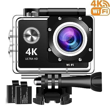 40087e65de78 Amazon.com   4K Action Camera