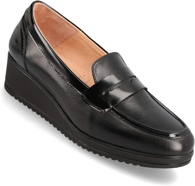 Black Full Grain Calf Leather Slip-On