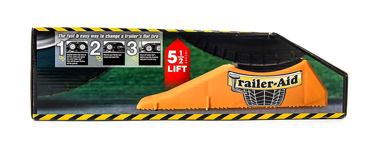 Camco 21 Trailer Aid Tandem Tire Changing Ramp