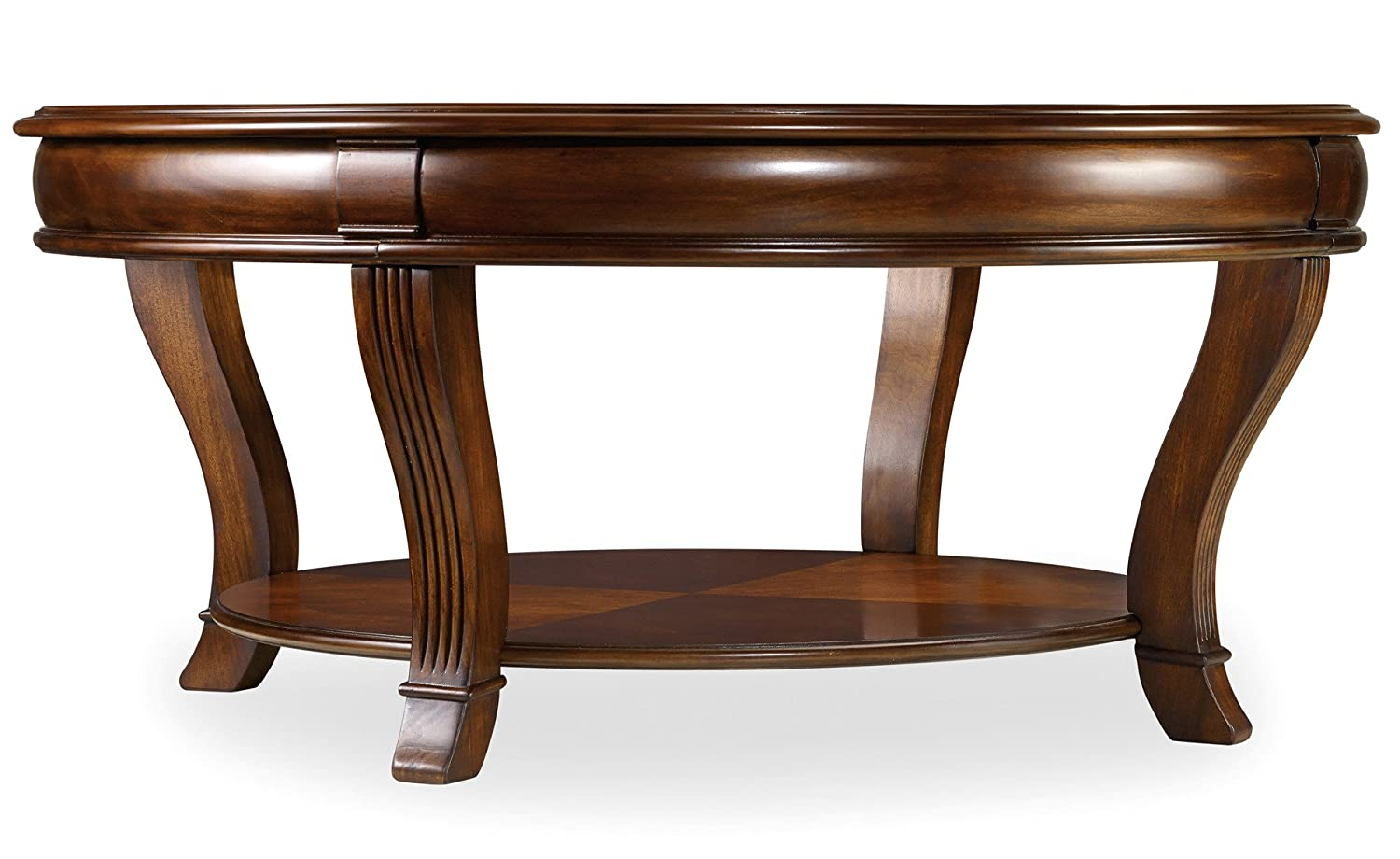 Amazon hooker furniture brookhaven round cocktail table in amazon hooker furniture brookhaven round cocktail table in clear cherry kitchen dining geotapseo Image collections