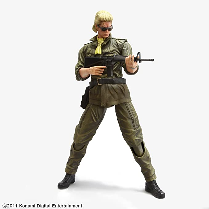 Amazon Com Metal Gear Solid Peace Walker Miller Play Arts Kai Action Figure Toys Games Getting to know each other. metal gear solid peace walker miller play arts kai action figure