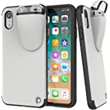 """Punkcase iPhone XR Airpods Case Holder (TopPods Series) 
