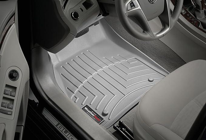 WeatherTech Front FloorLiner for Select Honda CR-V Models Gray 464021