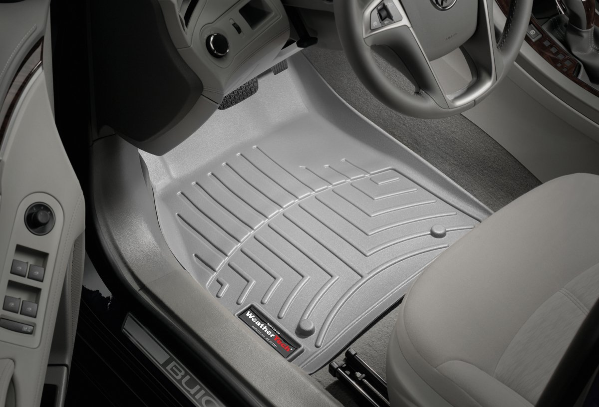 464091 Gray WeatherTech Front FloorLiner for Select Ford F-150 Models