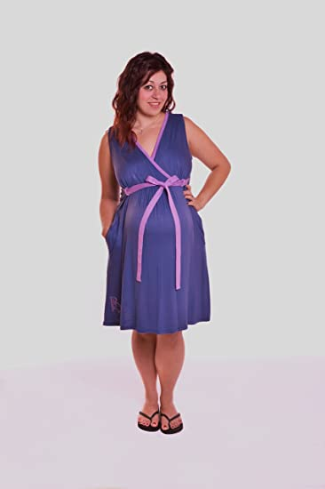 Amazon.com: BG Birthing Gown (Blueberry Pie): Baby
