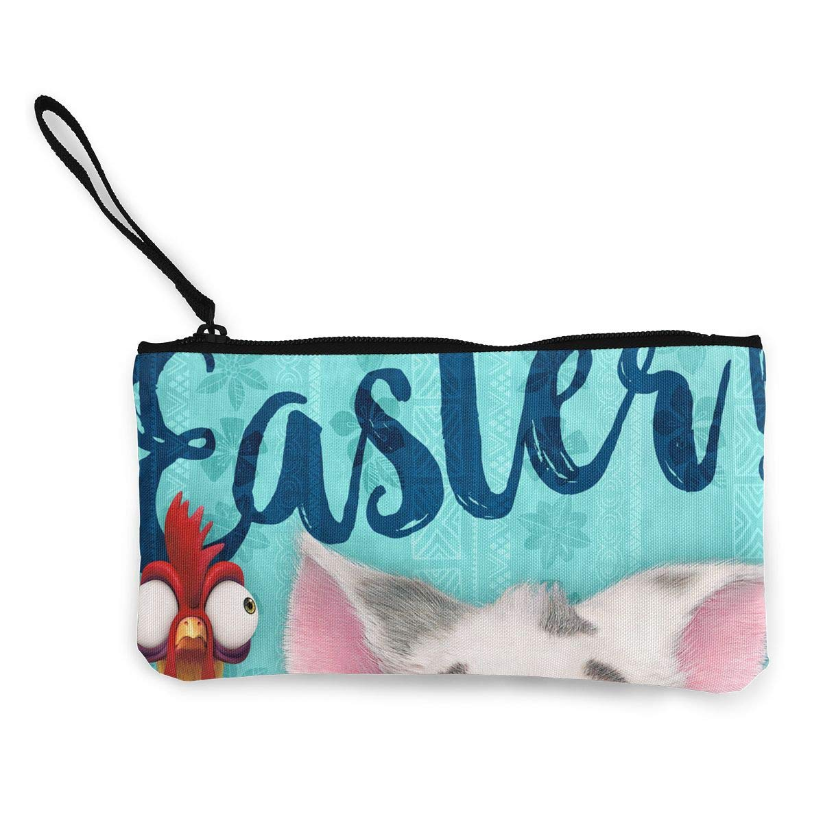 Make Up Bag Cellphone Bag With Handle DH14hjsdDEE Bunny Party Zipper Canvas Coin Purse Wallet