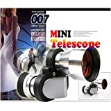 L-FENG-UK 8X20 Mini Compact Pocket Monocular Telescopes Glass Scop 96/1000m+BAG