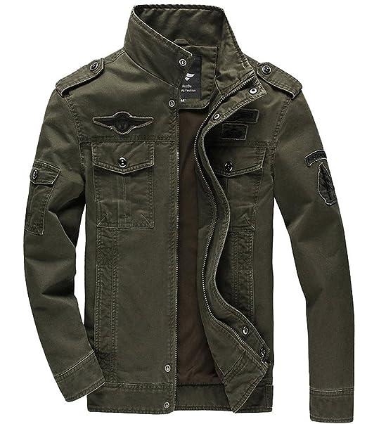 Military Style Rock Jacket