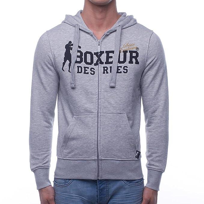 BOXEUR DES RUES Bxe-4859g Sudadera, Hombre: Amazon.es: Ropa y ...