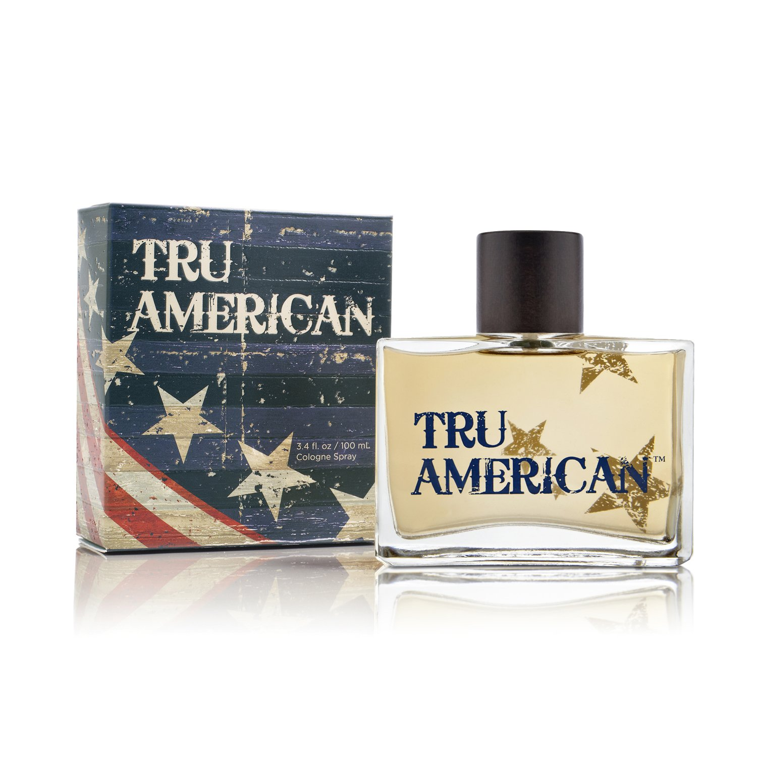 Tru American Cologne - Natural and Authentic Fragrance Spray Perfume for Men - Fresh and Masculine Scent Fragrance - 3.4 oz 100 ml