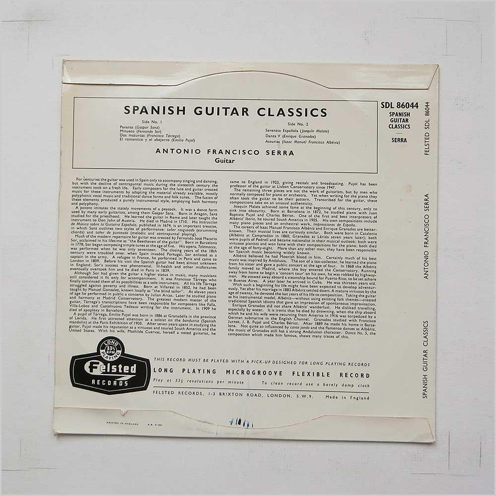 Amazon.com: Spanish Guitar Classics [10in Album]: Music