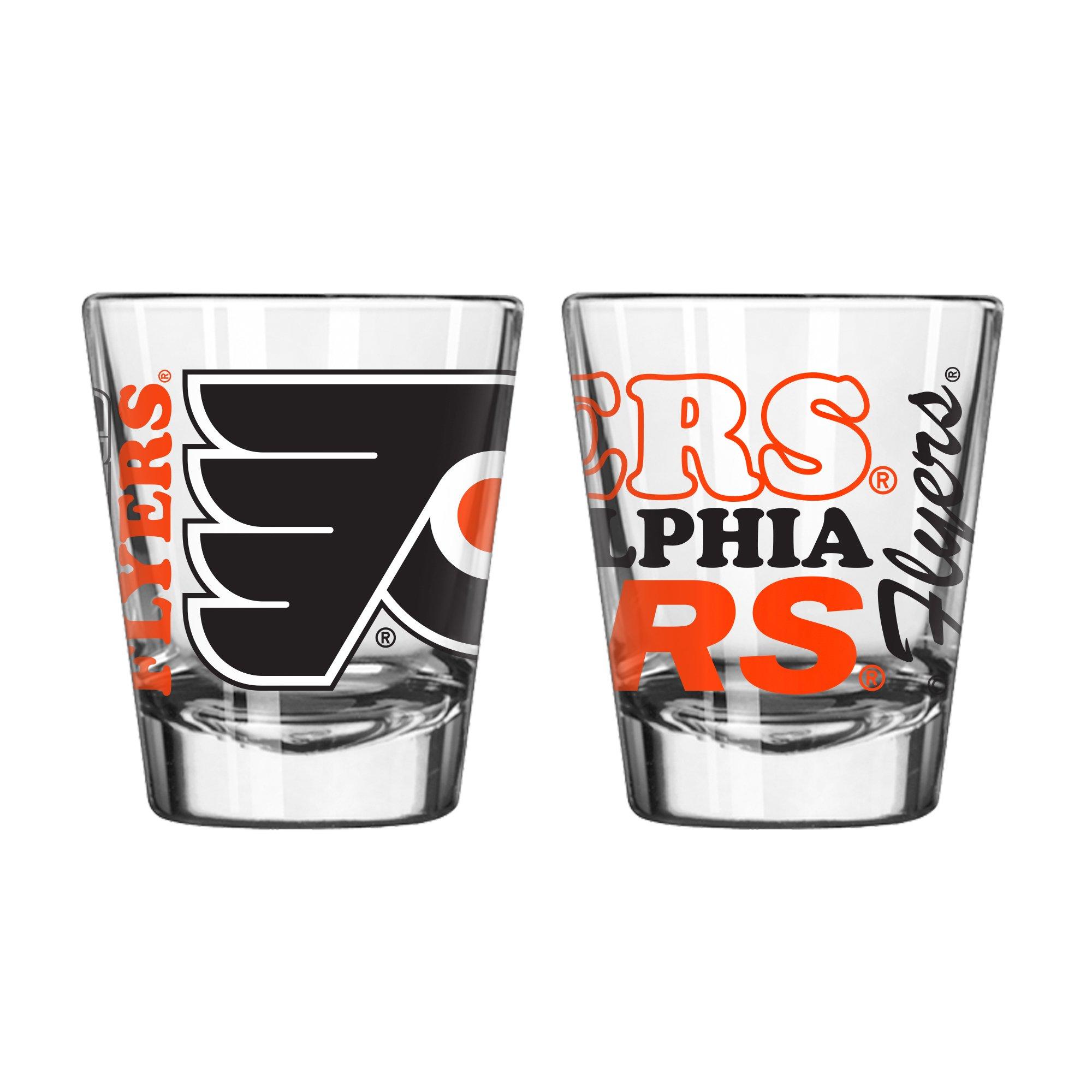 Philadelphia Flyers Official NHL 2 fl. oz. Spirit Shot Glass