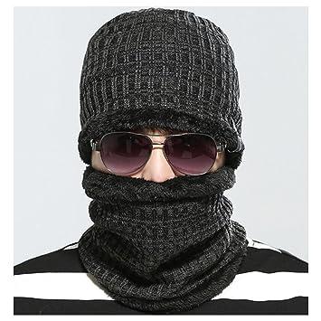 Herren Cap Mütze Häkeln Strick Wolle Winter Skibrille Für Wandern